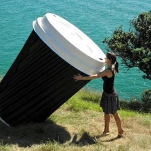 big espresso cup