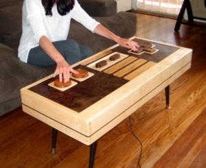 old school arcade table