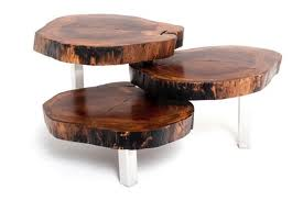 knot wooded table