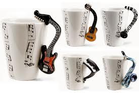 Guitar Coffee Cup
